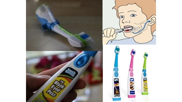 Музыкальная зубная щетка
